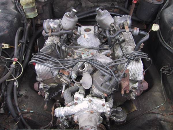 V8 Engine Rebuild